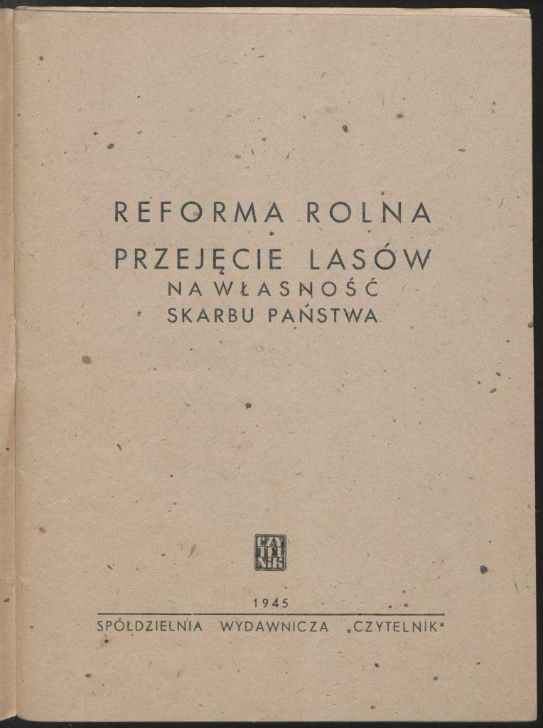 Odszkodowanie zareformę rolną adwokat